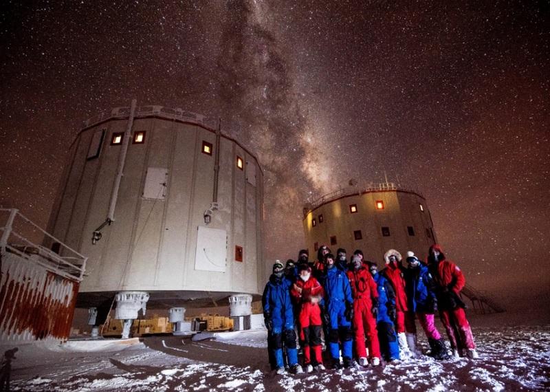 Антарктида, учёные в Антарктиде, люди в Антарктиде, Конкордия