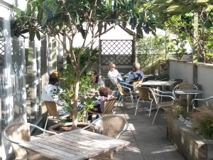Cafe Patio Area