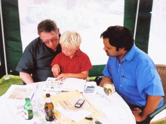 Dave, Oran and João Paulo