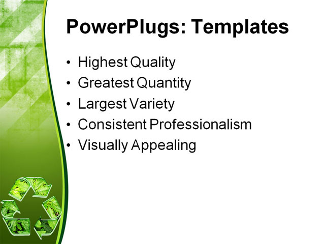 recycling ppt - Dolapmagnetband - recycling powerpoint templates