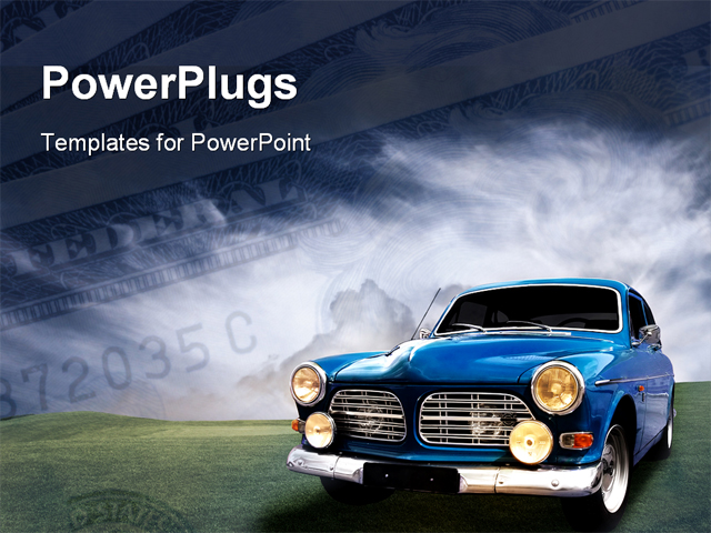 Ford motors powerpoint template