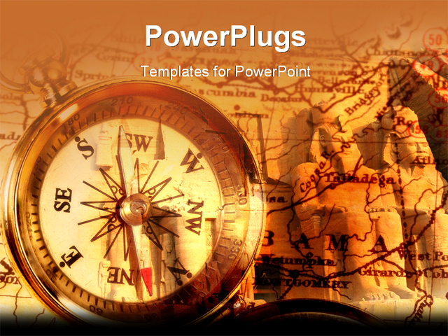 Images of Cool Compass Power Point - #SC - history powerpoint template