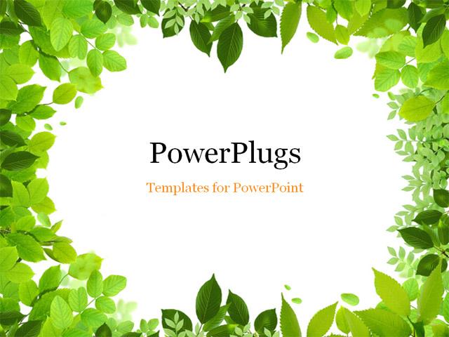 nature powerpoint template - Teacheng