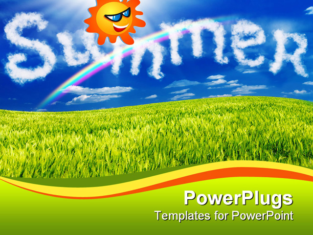 Summer Ppt Template Animated Summer Template For Powerpoint