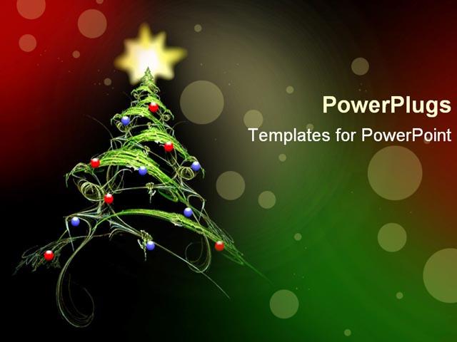 Beautiful Christmas 05 Powerpoint Templates Ivoiregion