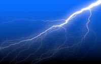 Animated Lightning Bolt Background