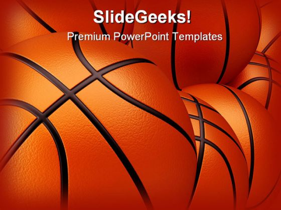 Basket Ball Sports PowerPoint Backgrounds And Templates 1210 - basketball powerpoint template