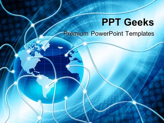 Global Business PowerPoint Templates And PowerPoint Backgrounds - global powerpoint template