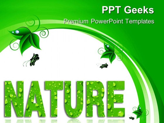 Nature Environment PowerPoint Templates And PowerPoint