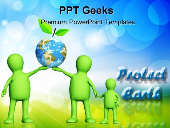 Protect Earth Environment PowerPoint Templates And PowerPoint