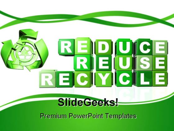 Recycle Environment PowerPoint Backgrounds And Templates 1210 - recycling powerpoint templates