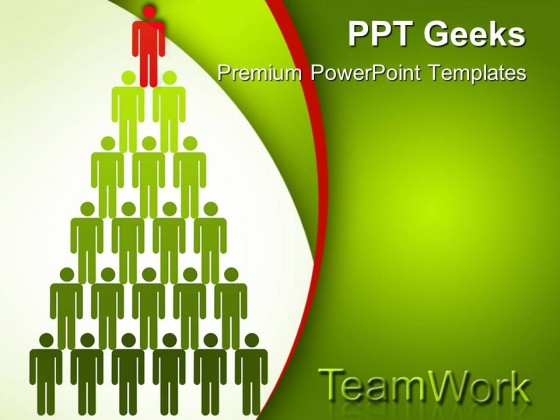 Top Man Teamwork PowerPoint Templates And PowerPoint