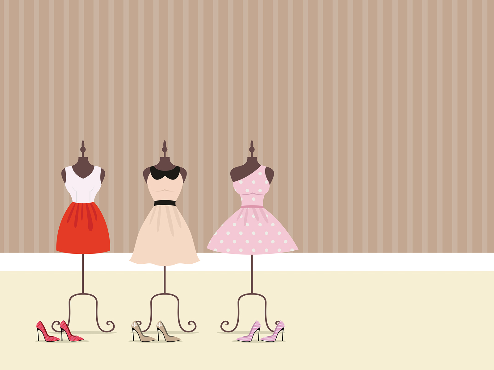 Dressing Point P Dresses Clothing Backgrounds Beige Design Pink Red