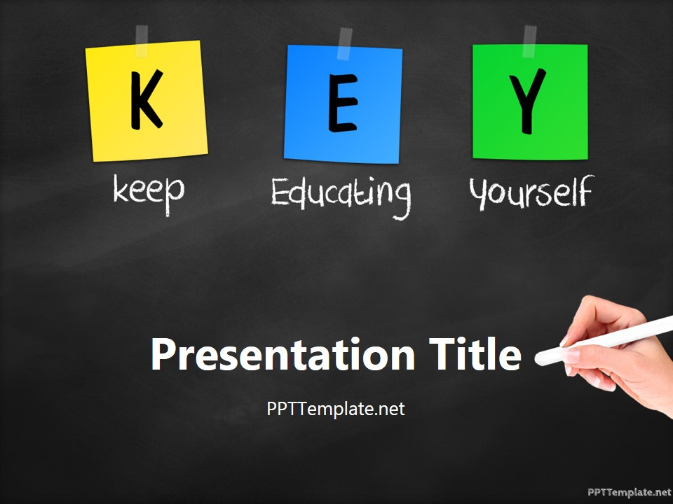 powerpoint educational background designs