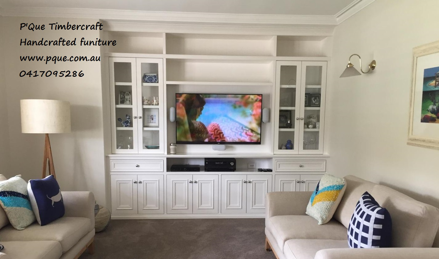 Hamptons Style Entertainment Unit Custom Furniture Perth Bookcases And Built In Pque