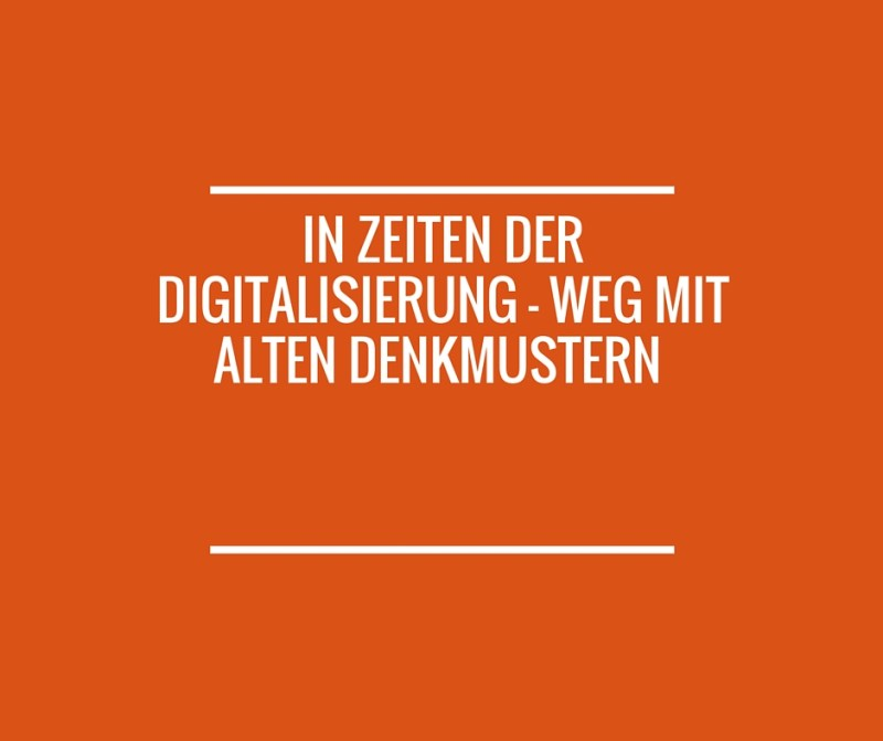 Digitalisierung - PR als modernes Kommunikationsmanagement