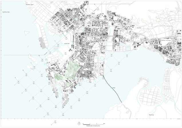 AXO_AER_posad, spatial strategies, REDISCOVERY OF THE CITY-STATE - printable lined paper sample