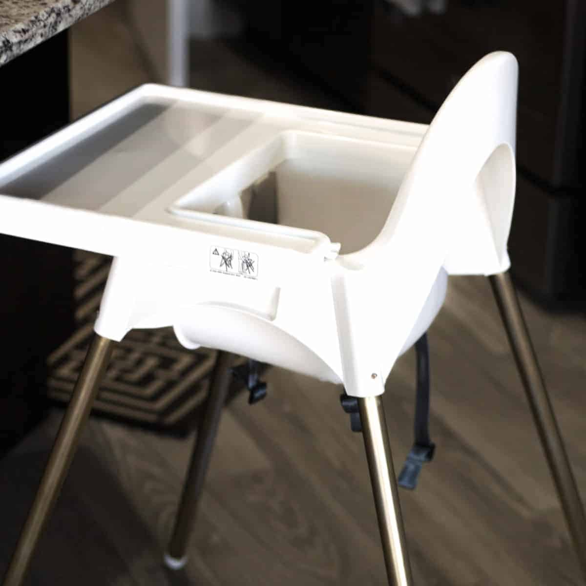 Ikea White Chair Ikea High Chair Makeover - Practical And Pretty