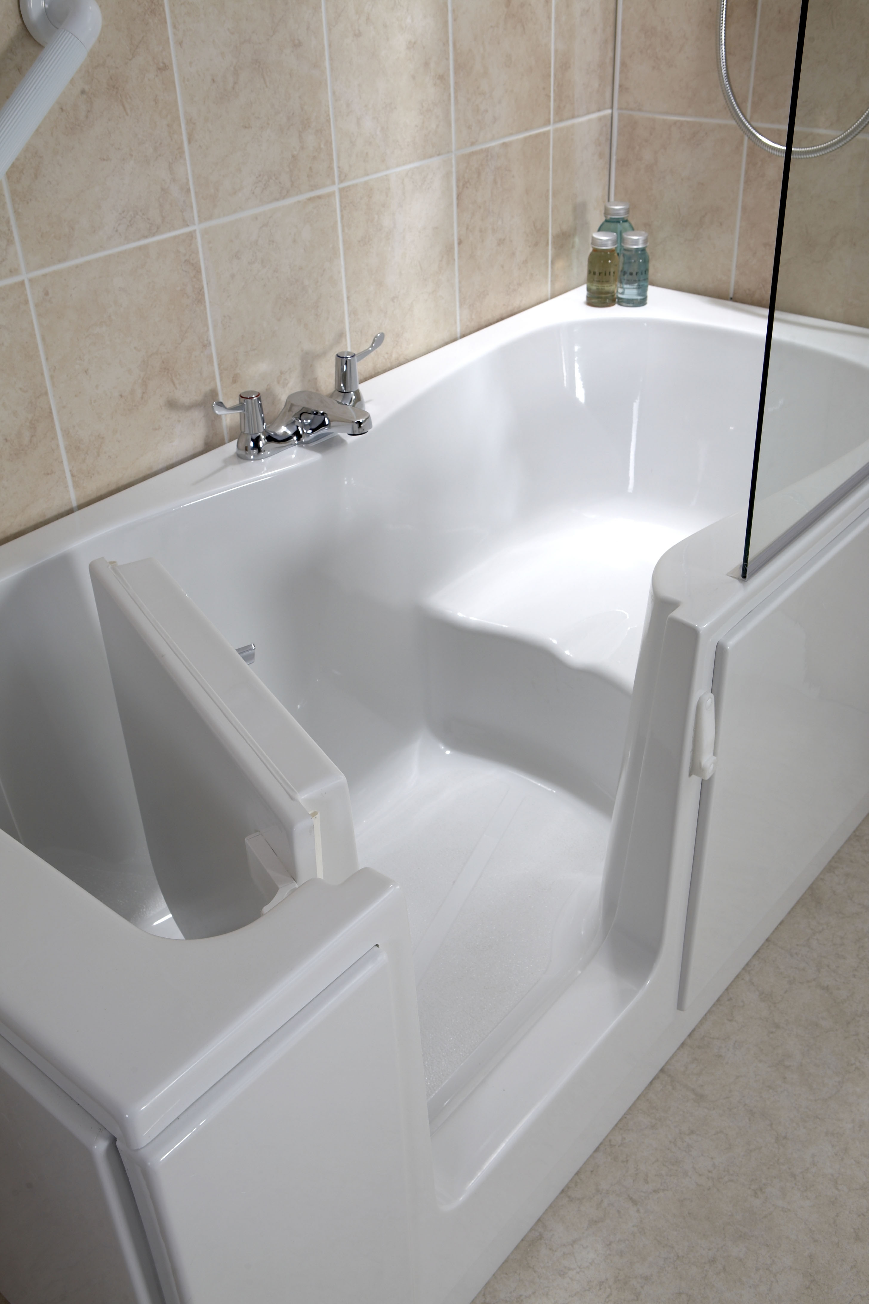 Jet Shower Jubilee Easy Access Shower Bath - Only £1799 From