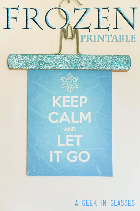 Free Frozen Printable