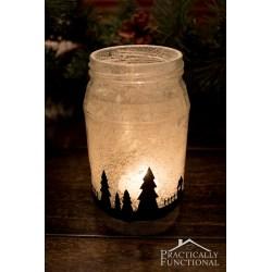 Small Crop Of Mason Jar Silhouette