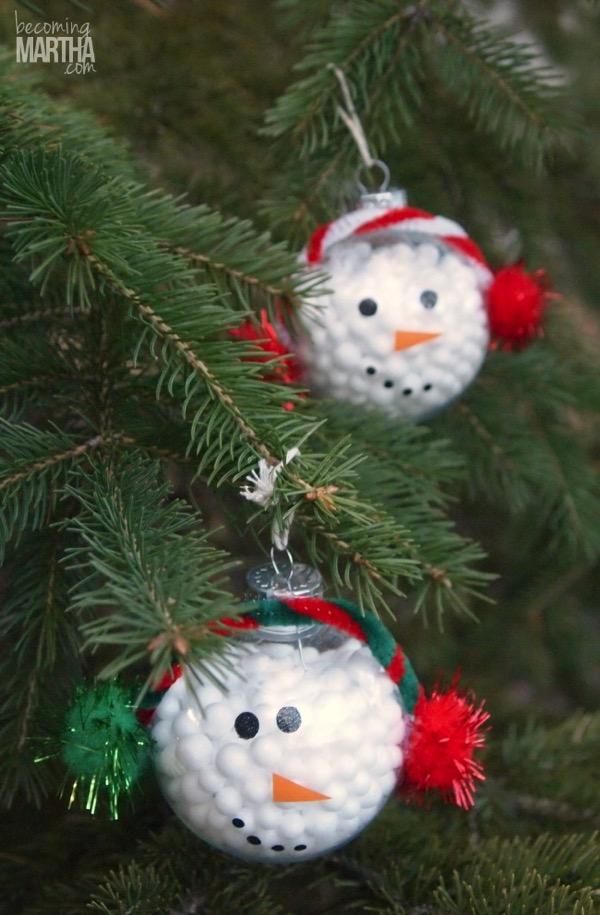 13 handmade christmas ornaments using vinyl