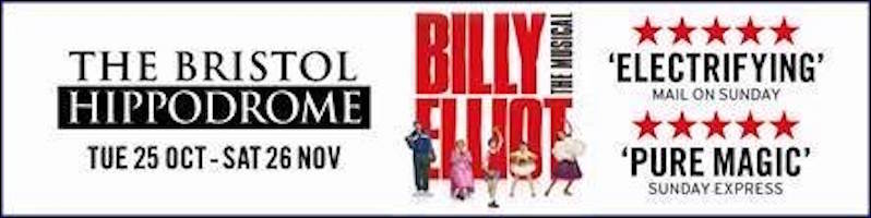 Billy Elliot - Bristol Hippodrome show listings
