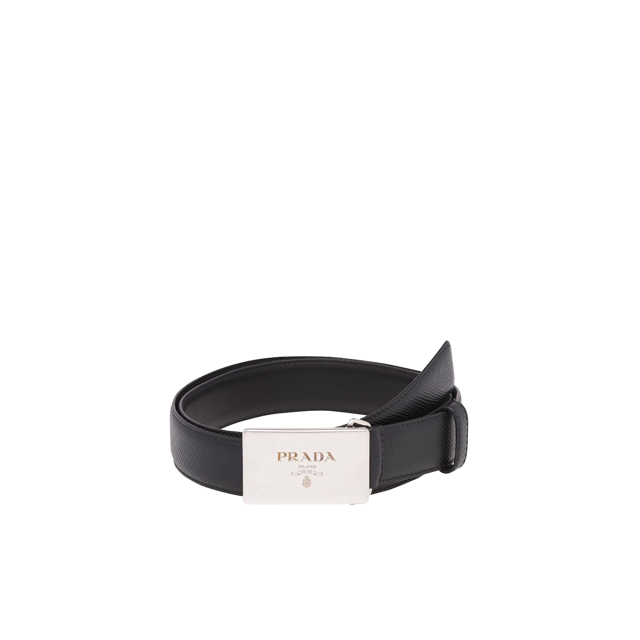 Leather Cuir Saffiano Cuir Leather Belt