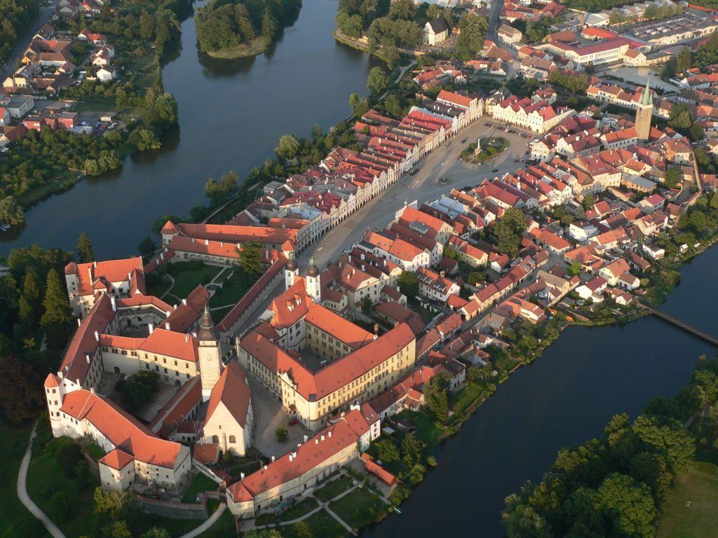 Bohemia Wallpaper 3d City Of Telc Unesco Prague Amp Czech Republic
