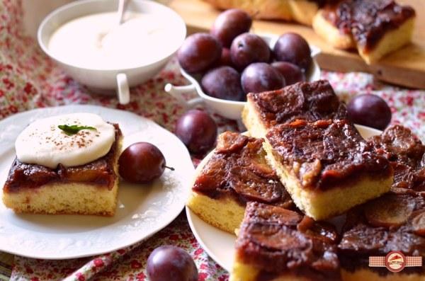 prajitura cu prune caramelizate4