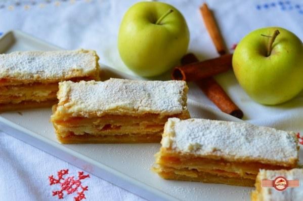 Prajitura fina cu mere
