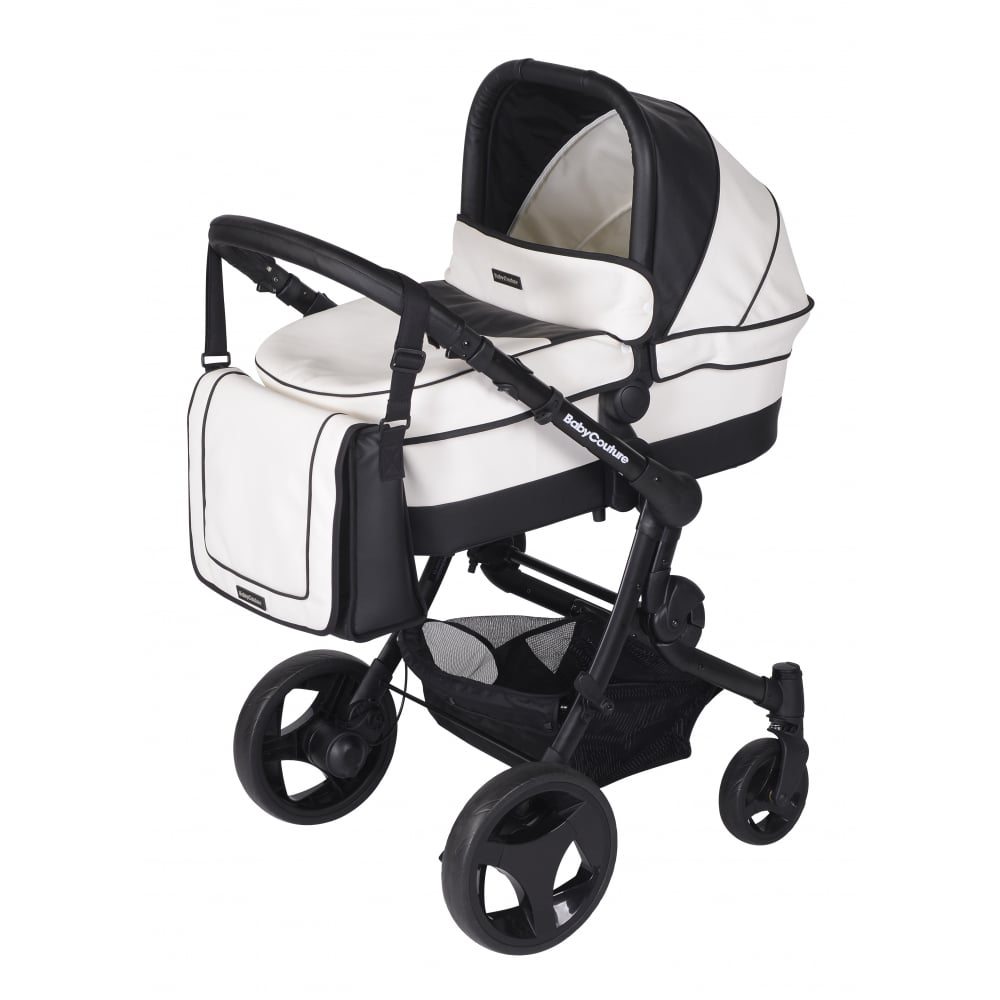 3 Wheel Baby Prams Baby Couture Senses 3in1 Black Chassis