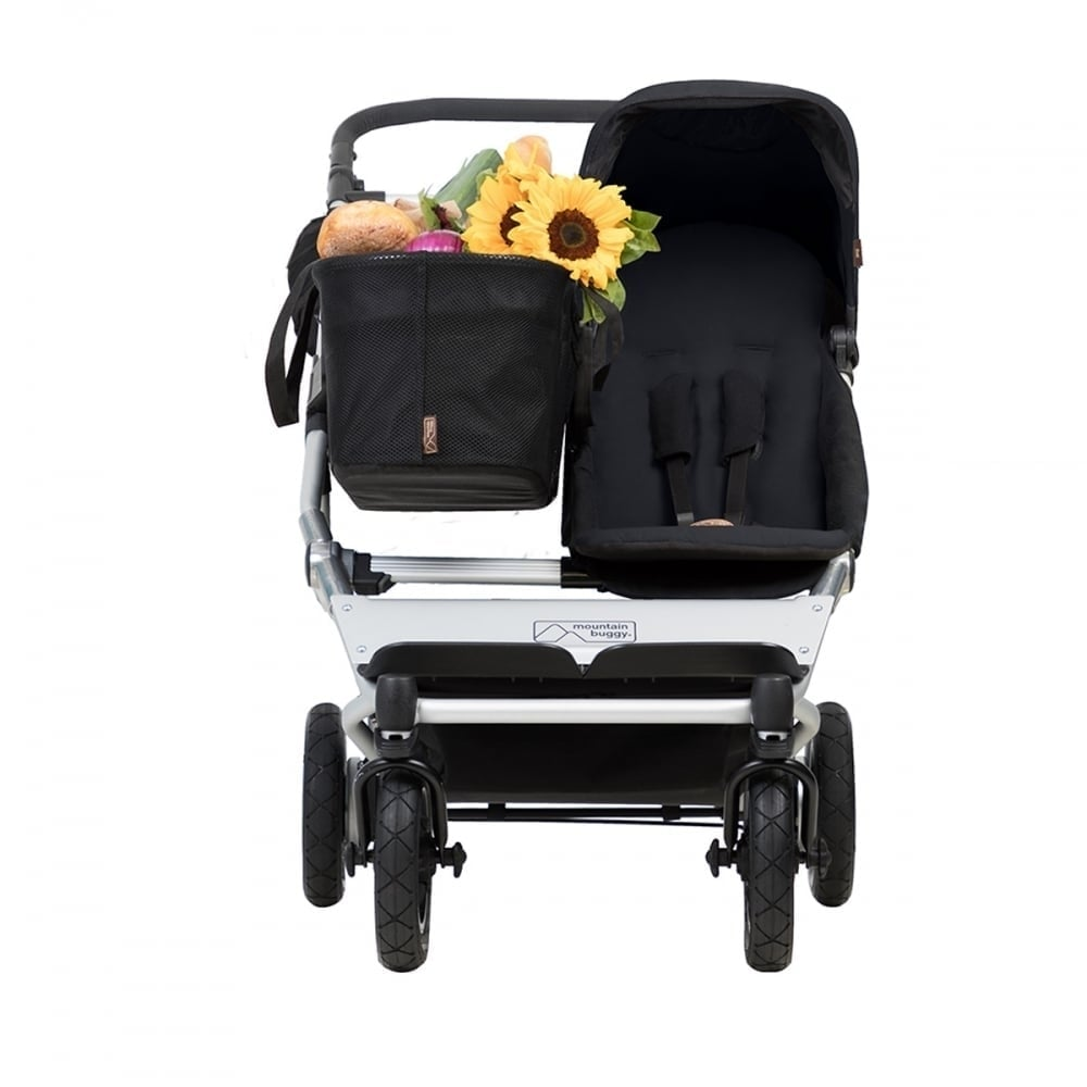Mountain Buggy Double Kit Mountain Buggy Duet As A Single Buggy Black Family Pack