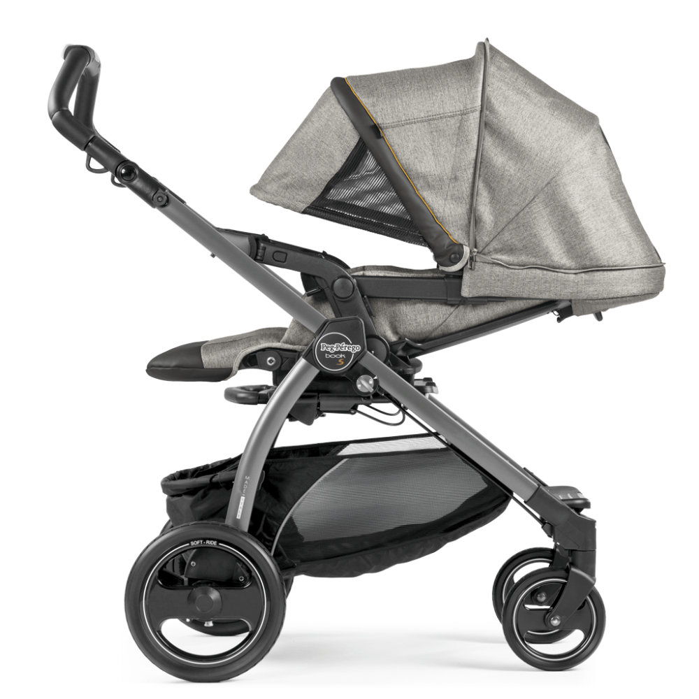 How To Fold Peg Perego Book Pop Up Stroller Peg Pérego Book S Pop Up 3in1 Jet Chassis Luxe Grey