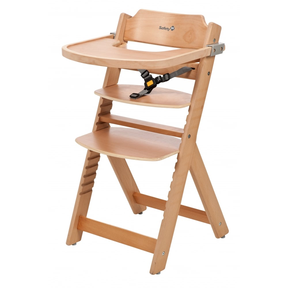 Kinderstuhl Baby Safety 1st Timba Wooden Highchair - High Chairs & Feeding