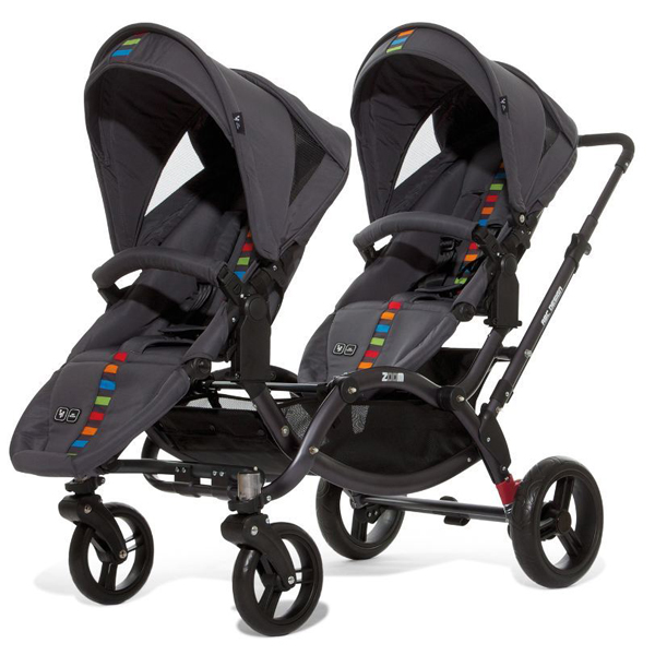 Jogger Stroller With Bassinet Abc Design Zoom Twin Tandem Pram Prams Guide