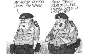 Cartoon from South China Morning Post
