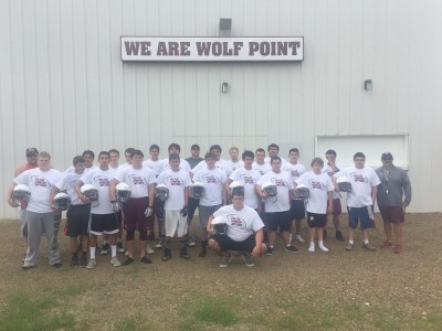 Wolf Point Team Picture