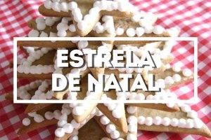 Árvore Estrela de Natal & Gingerbread Men via PratoFundo.com