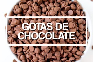 Ingredientes: Gotas de Chocolate por PratoFundo.com