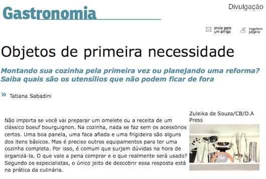 Na Mídia: Matéria no Correio Braziliense
