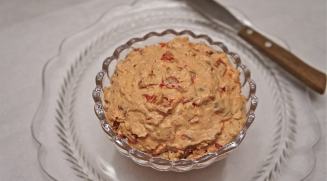 red pepper asiago spread