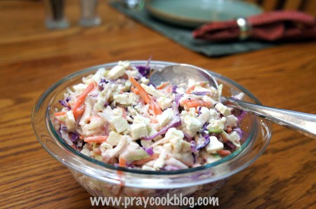 Hot Slaw, Bacon And Cheese Sandwich Recipe — Dishmaps