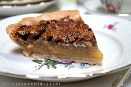 Pecan Caramel Pie single