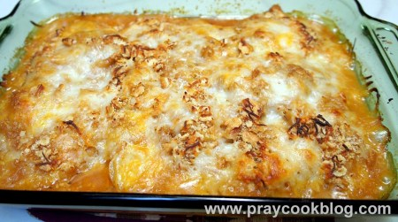 green tomato casserole baked