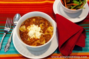 Lasagna Soup #1 Favorite