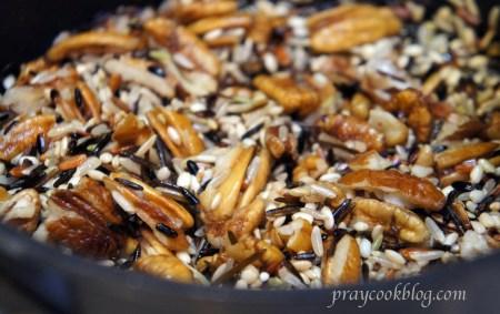 pecan wild rice