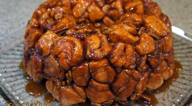 Monkey Bread Caramlized
