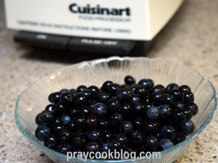 blueberries cuisanart