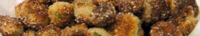 close up Okra